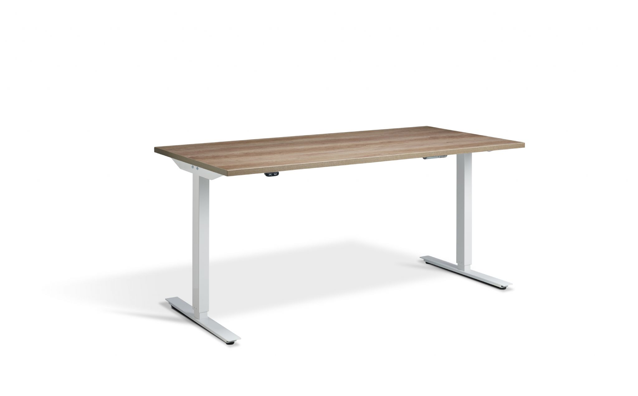 1200mm Angeo Jack Wide Electric Sit Stand Height Adjustable Desk With Single Motor System