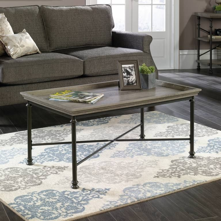 TEKNIK CANAL HEIGHTS Coffee Table In Northern Oak Finish
