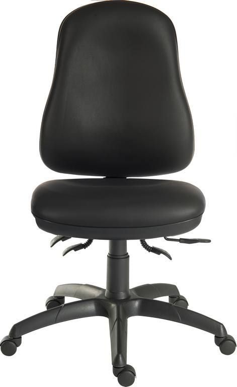 TEKNIK ERGO COMFORT PU Stylish Black PU Ergonomic Operating Chair